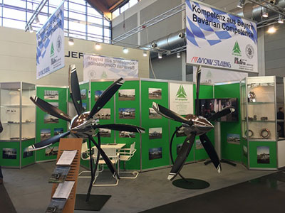 Our Booth at the Aero Friedrichshafen