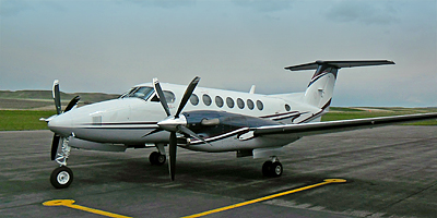 Beech King Air 300 with 5-blade MTV-27
