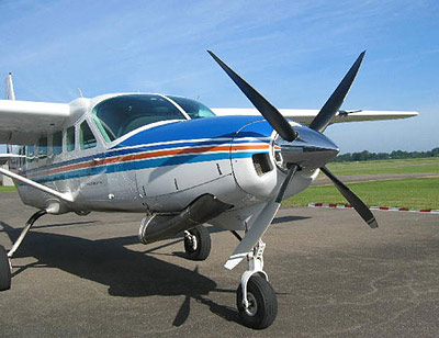 Cessna 208 with 4-blade MTV-16