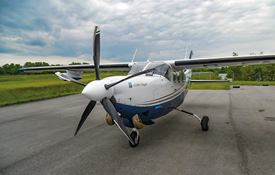 Cessna P210N Silver Eagle with 5-blade MTV-5