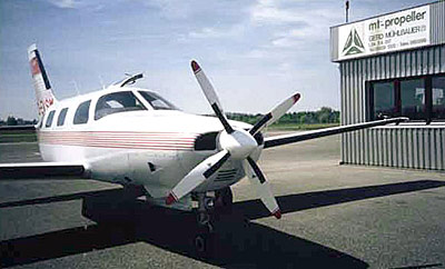 Piper PA-46 with 4-blade MTV-14