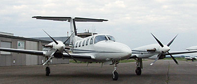 Piper PA-42 with 4-blade MTV-16