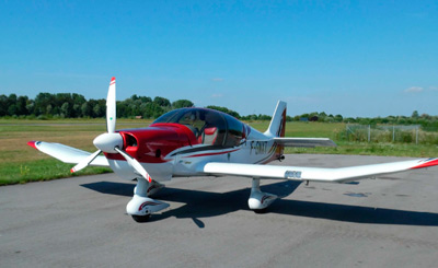 Robin DR 300/400 with 3-blade MTV-6