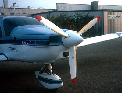 Socata TB 10 with 3-blade MTV-12